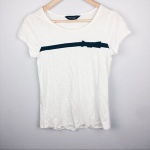 Dorothy Perkins bow Detail tee